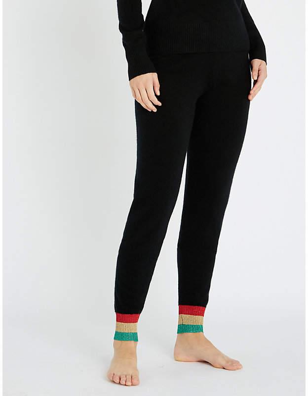 Madeleine Thompson Maude cashmere jogging bottoms