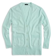J.Crew Women's Oversize Wool Blend Cardigan