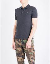Polo Ralph Lauren Slim-fit stretch-piqué polo shirt