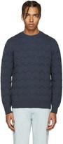 A.P.C. Navy Schulz Sweater