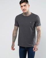Pretty Green Mitchell Crew Neck T-Shirt In Grey