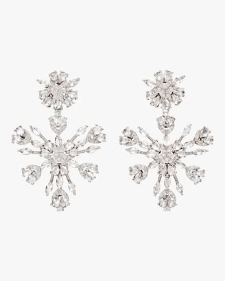 Fallon Snowflake Chandelier Earrings