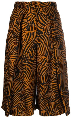 Missoni Embroidered Cropped Trousers