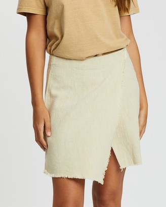 Rusty Heartbreaker Wrap Skirt