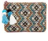 Steve Madden Resort Fabric Clutch