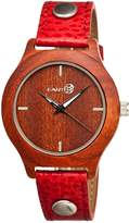 Earth Wood Tannins Quartz Watch, 41mm
