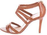 Alexandre Birman Braided Leather Sandals