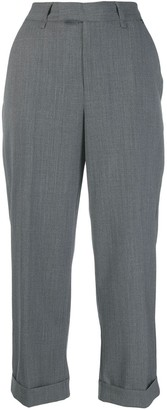 Twin-Set Cropped Wool Trousers