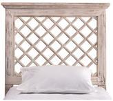 Hillsdale Furniture Kuri Headboard without Rails - Distressed White - King