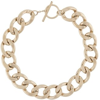 Saint Laurent Chunky Chain-Link Necklace