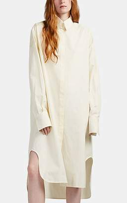 The Row Women's Sona Cotton Sateen Shirtdress - Sand