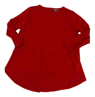 Cos Red Cotton Tops
