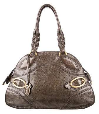 Tod's Glossy Leather Shoulder Bag