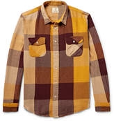 Levi's Shorthorn Checked Cotton-Flannel Shirt