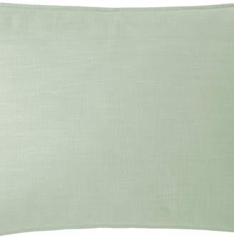 Colcha Linens Cambric Seafoam Pillow Sham-Queen Bedding