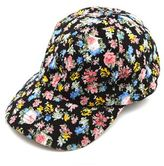 Charlotte Russe Ditsy Floral Baseball Cap