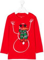Stella McCartney snowman patch sweatshirt