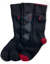 Ralph Lauren Trouser Sock 3-pack