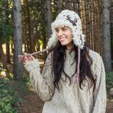 Muk Luks Women's Deer Tassel Helmet