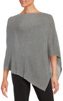 Eileen Fisher Ribbed-Knit Poncho