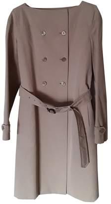 Prada Beige Cotton Trench Coat for Women