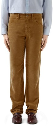 Gucci Washed Velvet Corduroy Pant