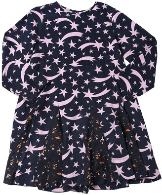 Stella Mccartney Kids Star Print Viscose Dress