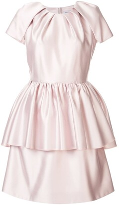 Dice Kayek peplum waist dress