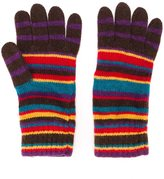 Paul Smith striped gloves - men - Wool/Cashmere/Viscose/Nylon - One Size