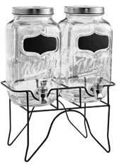 Jay Import Co Main St. Beverage Dispensers Set