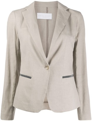 Fabiana Filippi One-Button Blazer