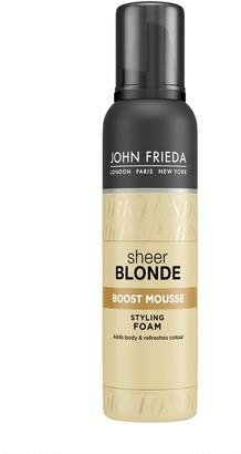 John Frieda Sheer Blonde Boost Mousse Styling Foam 200Ml