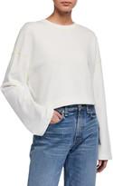 ATM Anthony Thomas Melillo French Terry Zigzag Detail Sweatshirt