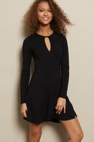 Garage Ballet Fit & Flare Long Sleeve Dress