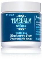 TheBalm TimeBalm Skincare White Tea Blueberry Face Treatment Mask