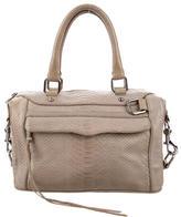 Rebecca Minkoff Embossed Leather M.A.B. Bag
