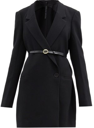Petar Petrov Juventa Tailored Double-faced Wool Jacket - Black