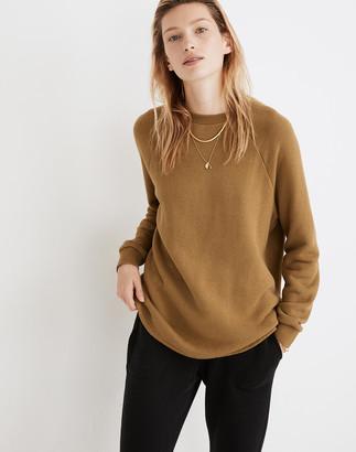 Madewell MWL Airyterry Overdyed Oversized Sweatshirt