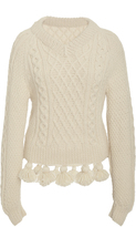 Rosie Assoulin Grandma Elanor's Blanket Sweater