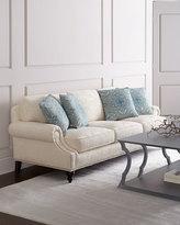 Horchow Venetian Flower Sofa