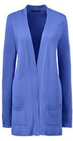 Classic Women's Regular Performance Long Open Cardigan-True Blue
