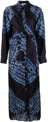 P.A.R.O.S.H. Abstract-Print Shirt Dress