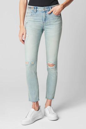Blank NYC The Bond Gem Waist Skinny Jean in Nashville Light Denim 24
