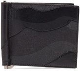 Valentino Camouflage canvas and leather wallet