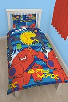 "Camilla And Marc Character World 91 cm Single Disney ""Big Hero Six Hiro"" Rotary Duvet Set, Multi-Colour"