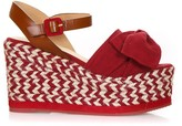 Castaner Red Fabric Eucalipto Sandals