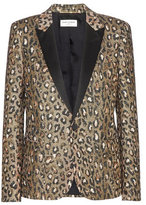 Saint Laurent Jacquard blazer