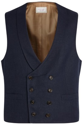Brunello Cucinelli Double-Breasted Waistcoat
