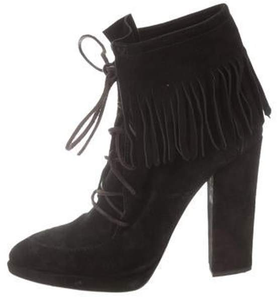 Giuseppe Zanotti Suede Ankle Boots Black Suede Ankle Boots