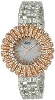 Burgi Women's Dazzling Crystal Quartz Bracelet Watch
